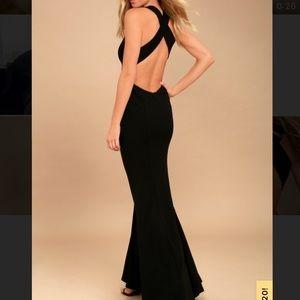 Lulus maxi formal dress